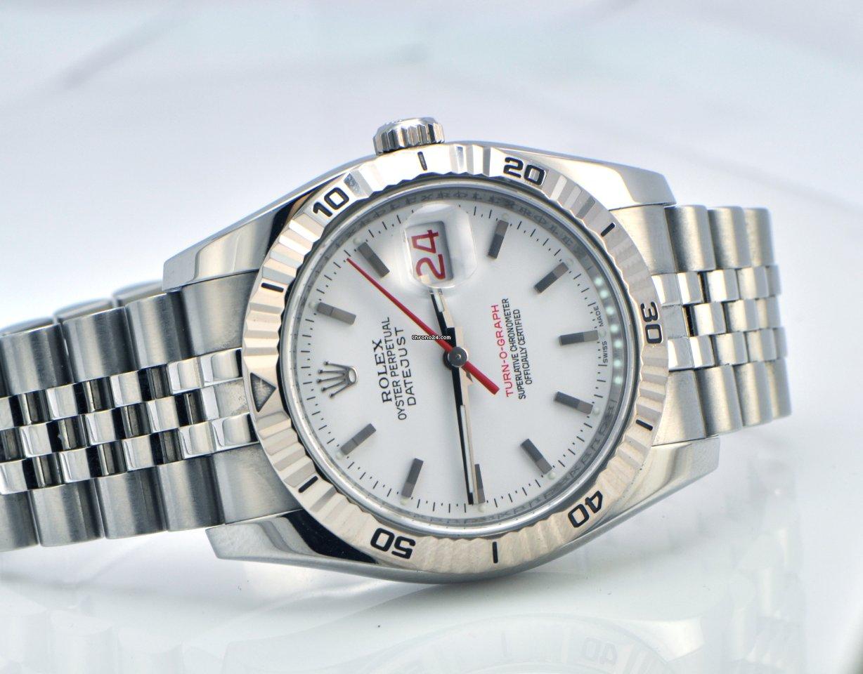 b510c86d44d Rolex DateJust Turn-O-Graph Stainless Steel White Face Z en venta por  Precio a petición por parte de un Trusted Seller de Chrono24