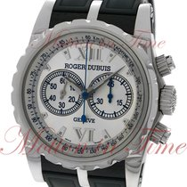 Roger Dubuis Steel Automatic Silver Roman numerals 43mm new Sympathie