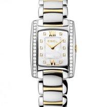 Ebel Brasilia Gold and Steel Case With Diamonds
