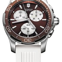 Victorinox Swiss Army Steel 45mm Quartz 241503 new United States of America, New York, Brooklyn