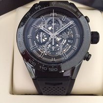 TAG Heuer Carrera Calibre Heuer 01 Chronograph Black Ceramic