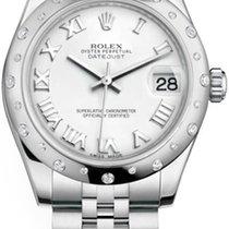 Rolex Datejust Acier 31mm Blanc