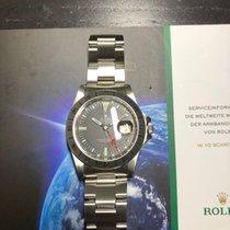 Rolex Explorer II Stahl 40mm Schwarz Keine Ziffern Deutschland