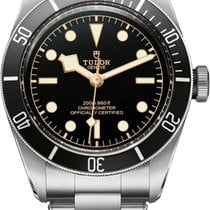 Tudor Heritage Black Bay Steel To Steel - 79230n