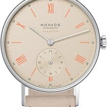 NOMOS Ludwig Neomatik Steel 36mm Champagne United States of America, New York, Airmont