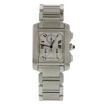 Cartier Tank Francaise 2303 Chronograph Quartz