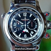 Jaeger-LeCoultre Master Compressor Extreme World Chronograph pre-owned 46.3mm Black Chronograph Date GMT Fold clasp