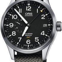 Oris Big Crown ProPilot GMT Steel 45mm Black United States of America, New York, Airmont