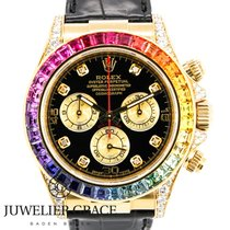 Rolex Daytona  18K Rainbow Diamond Aftermarket