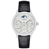 Jaeger-LeCoultre Rendez-Vous White gold 37.5mm Silver No numerals United States of America, New York, NEW YORK