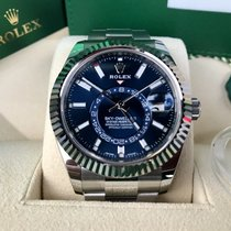 Rolex Sky-Dweller 42mm Stainless Steel Blue Dial