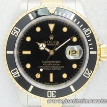 Rolex Professionali Submariner Date 16613 quadrante nero full set