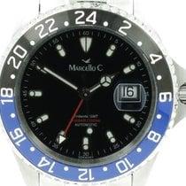 Marcello C. Tridente Steel 44mm Black