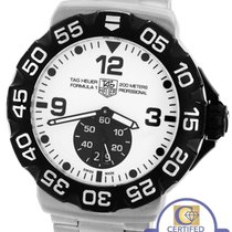 TAG Heuer Men's Tag Heuer Formula One Grande Date White 44mm...