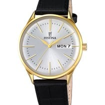 Festina Steel 42.5mm Quartz F6838/1 new