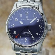 Revue Thommen 36mm Automatic 1990 pre-owned Airspeed (submodel) Blue