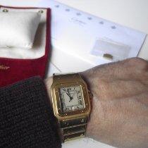 Cartier Santos Galbée occasion 29mm Or jaune