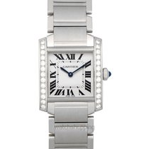 Cartier Tank Française new Quartz Watch with original box and original papers W4TA0009