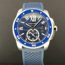 Cartier Calibre de Cartier Diver Steel 42mm Blue United States of America, New York, New York