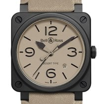 Bell & Ross BR 03 BR0392-DESERT-CE New Ceramic 42mm Automatic