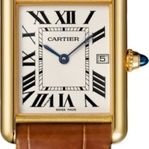 Cartier Tank Louis Cartier Yellow gold Silver United States of America, Florida, North Miami Beach