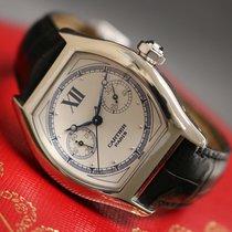 Cartier Tortue Oro blanco Blanco