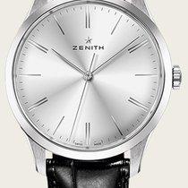 Zenith Elite 6150 Stahl 42mm Silber