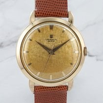 Universal Genève Rose gold 33mm Manual winding pre-owned