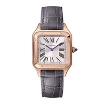 Cartier Santos Dumont Rose gold 38mmmm Silver Roman numerals United States of America, New York, New York