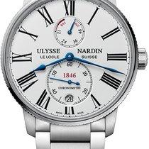 Ulysse Nardin Marine Torpilleur Steel 45mm White