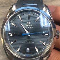 Omega Seamaster Aqua Terra Acero 41mm Azul Sin cifras