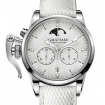 Graham Steel 36mm Quartz 2CXCS.S06A.L107S new