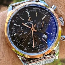 Breitling Transocean Chronograph Steel 43mm Bronze United States of America, Texas, Plano