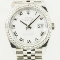 Rolex Datejust Steel 36mm White Roman numerals United States of America, California, Newport Beach, Orange County