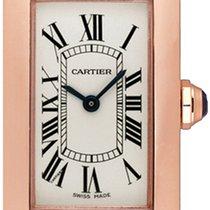 Cartier Tank Américaine Ruzicasto zlato 35mm Srebro
