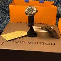 Louis Vuitton Steel 44mm Automatic Q1031 pre-owned United States of America, New York, Staten Island