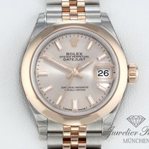 Rolex Lady-Datejust Zlato/Zeljezo 26mm Ružičasto Bez brojeva