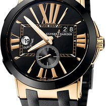 Ulysse Nardin pre-owned Automatic 43mm Black Sapphire crystal 10 ATM