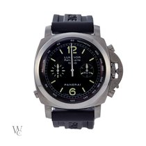 Panerai Luminor 1950 3 Days Chrono Flyback PAM 00213 2005 folosit
