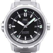 IWC Aquatimer Automatic Steel 44mm Black No numerals