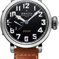 Zenith 03.1930.681-21.C723 Steel 2013 Pilot Type 20 new United States of America, New York, Brooklyn