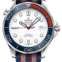 Omega Seamaster Diver 300 M Acciaio 41mm Bianco Senza numeri