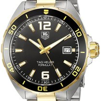 TAG Heuer Formula 1 Black Dial Two Toned Steel Men Watch...