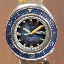 Squale Steel 44mm Quartz pre-owned