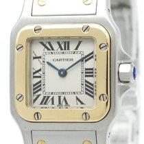 Cartier Santos Galbee Quartz Stainless Steel,Yellow Gold (18K)...