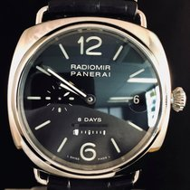 Panerai Radiomir 8 Days Steel Manual Wind - FULLSET B&P2013 /...