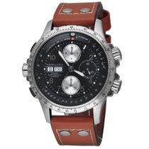Hamilton Khaki X-Wind Brown Leather Strap Automatic Men's...