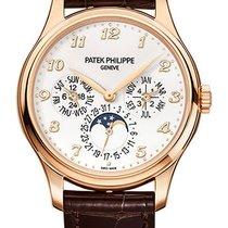 Patek Philippe Perpetual Calendar Růžové zlato 39mm Bílá Arabské