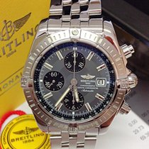 Breitling Chronomat Evolution Grey Dial - Serviced by Breitling