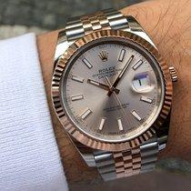 Rolex Datejust 41 Everose Gold & Steel